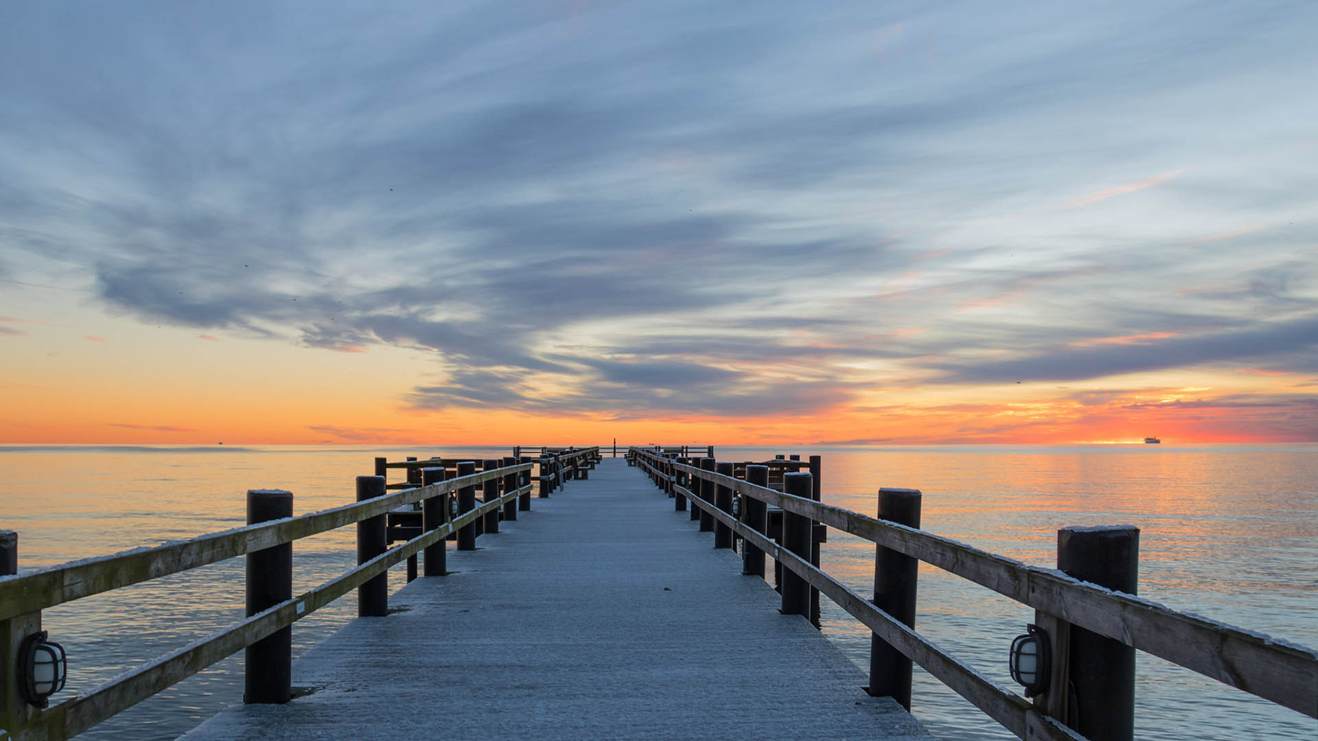 Meditation und Seelenbilderreise - Steg ins Meer